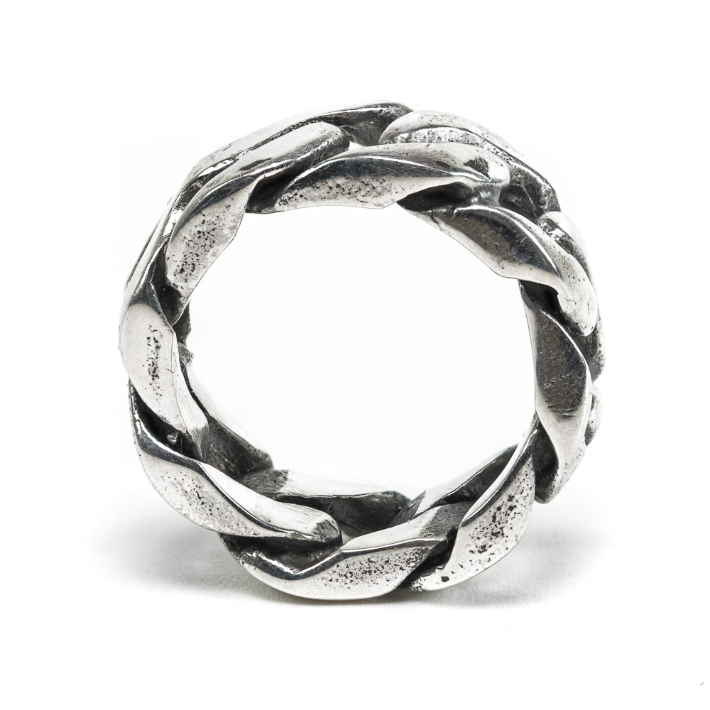 Chunky Curb Ring side view